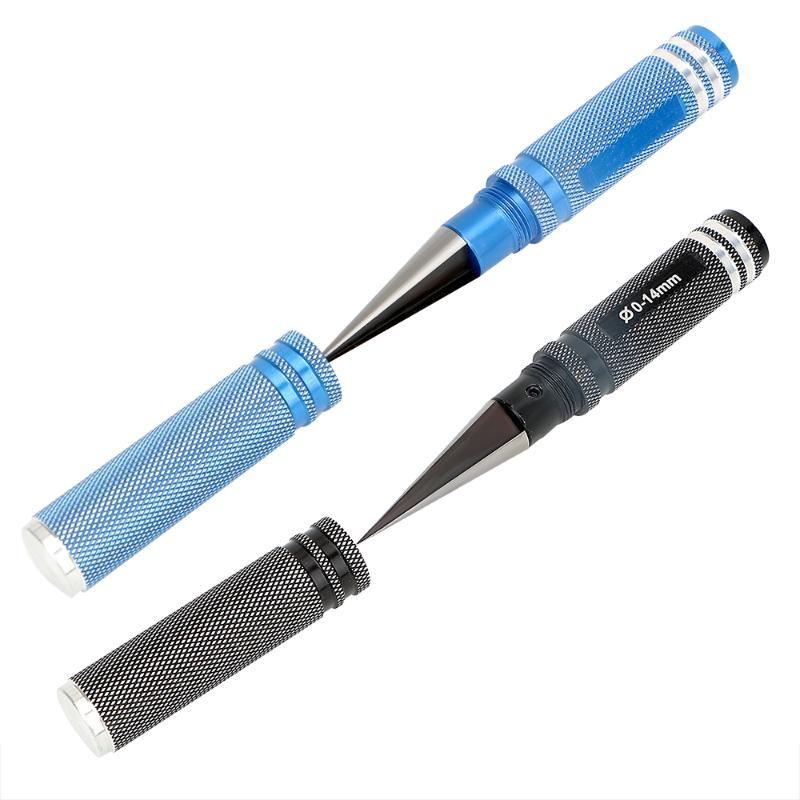NICEYARD 0-14mm Universal-Profi Reaming Messer Drill Werkzeugkante Reibahle praktisches Werkzeug Schnitt durch Auto und Helix Körper