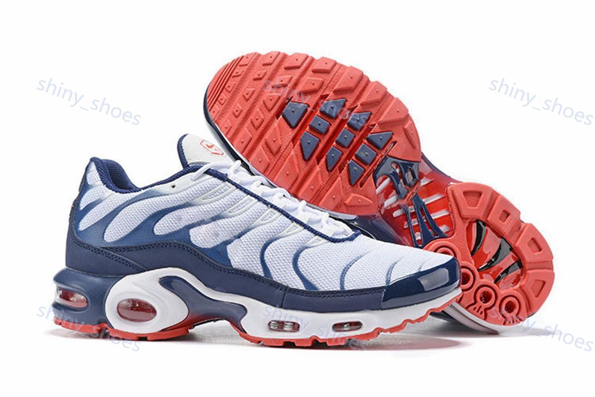 2020 de alta qualidade clássicos Tn Além disso GS formadores SE Greedy triplos pretos brancos Running Shoes Mens Trainers azul Fúria Esporte Sneakers Tamanho 40-46