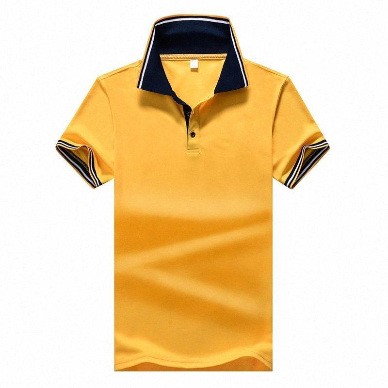 Estate Nuovo mens camicia casuale camicia di colore solido Uomini Uomini manica corta gira giù Tops c30t #