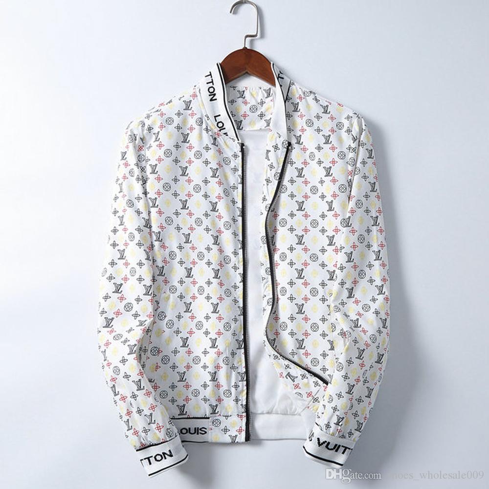 al por mayor de L bordado V hombres capa de la chaqueta del hombre de Hip Hop de Calle OFF Hombres chaqueta PALM Escudo Bombardero Ropa ángeles blancos bolso de los zapatos 07