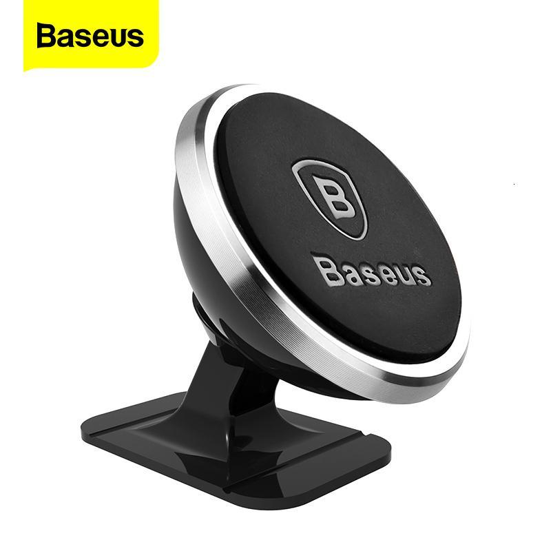 Baseus Support magnétique de téléphone de voiture pour iPhone Samsung Universal Magnet Mont Support pour téléphone portable en voiture Mobile Smartphone stand