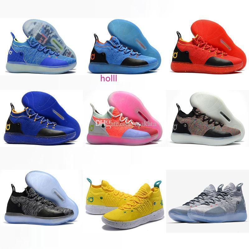 con boxNew Kid Mujeres Jóvenes KD XI 11 EP Oreo muchos colores zapatos de buena calidad Kevin Durant 11s zapatos de baloncesto de Estados Unidos Tamaño 5,5-12