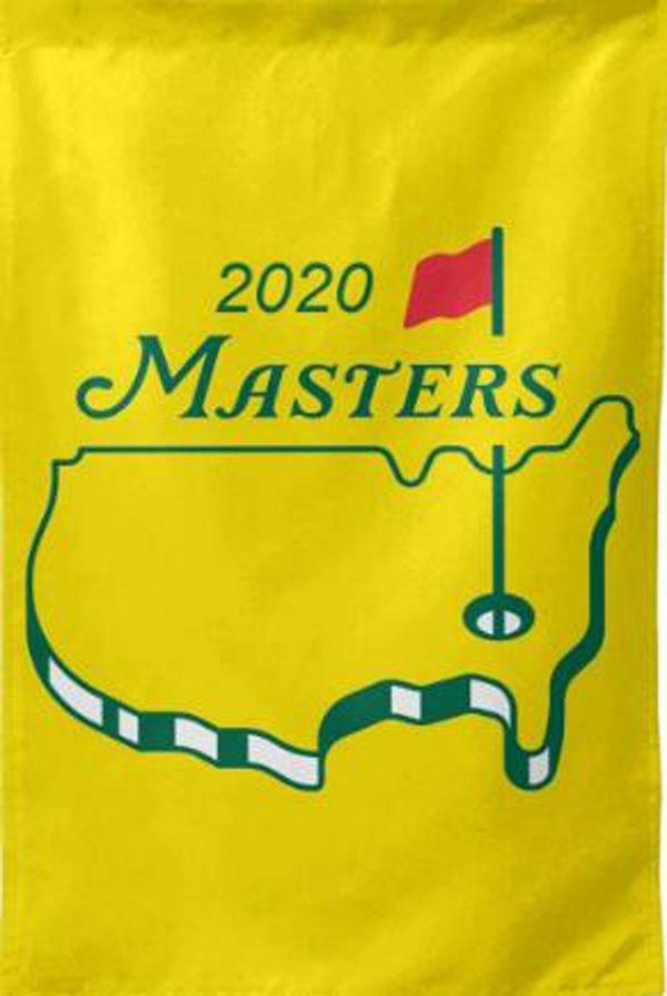 2020 Die US-Masters-Turnier Golf-Flagge Vertikale Banner 3x5FT 90x150cm Kundenspezifische Flaggen-Hauptdekor-Polyester-Dekoration