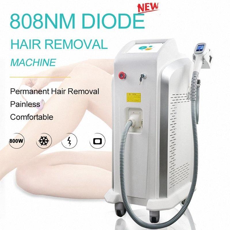 808nm Profissional Diode Laser permanente cabelo remoção máquina Alemanha Laser Bares rápido Depilação Equipamento da beleza do CE aprovado IuYx #
