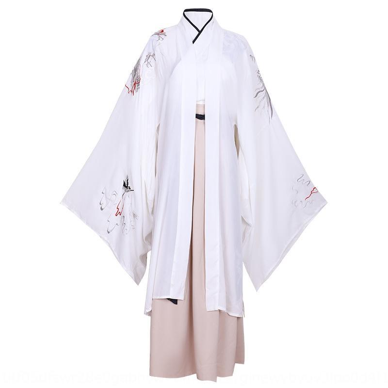 3971 estilo chino de artes marciales Longyue Hanfu hombres técnicas de estudio antiguo traje de rendimiento de traje antiguo de vestuario