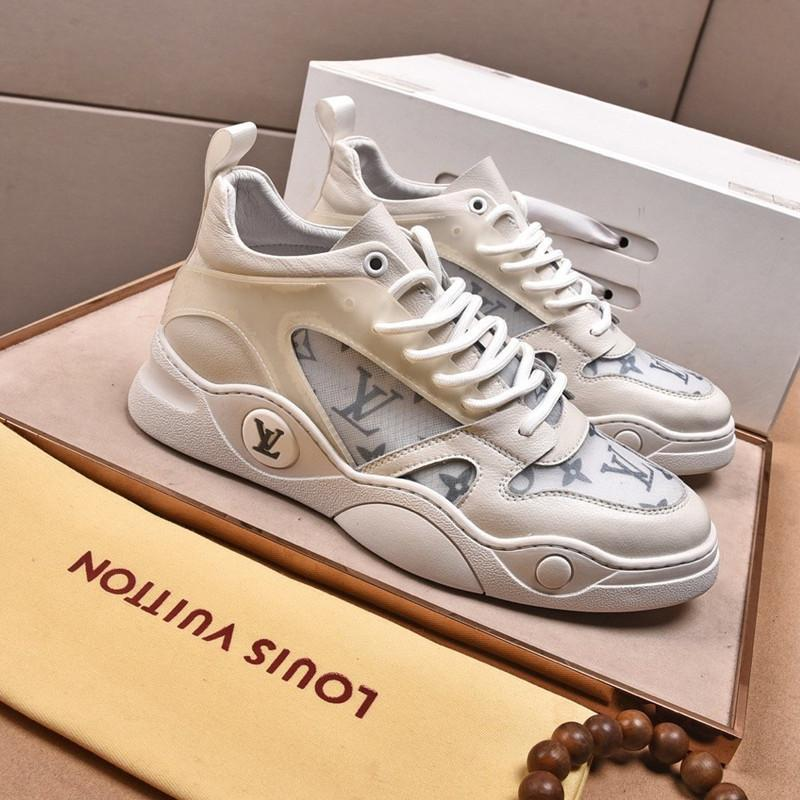 058 High quality men's designer casual sports shoes and famous brand outdoor casual shoes, fast delivery in the original box