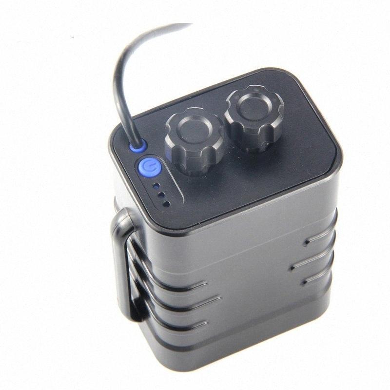 6 Section Boîtier étanche 18650 batterie 5VUSB84VDC double interface 18650 Batterie etanche vélo électrique Partie Cyclisme SJH5 #