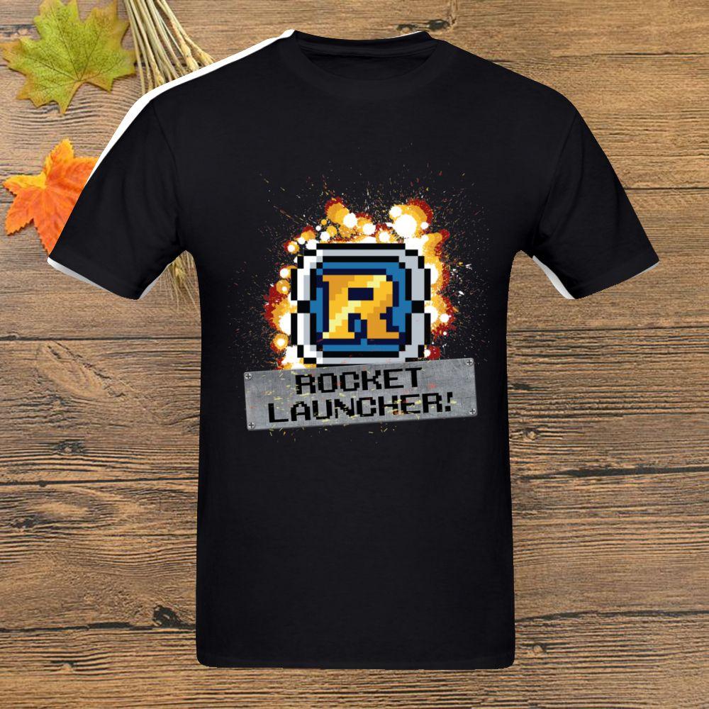 Launcher T Shirt Metal Slug Rocket Unisex homme Plus Size manica corta Tee Shirt maglietta 2019 maglietta stampata homme fresco