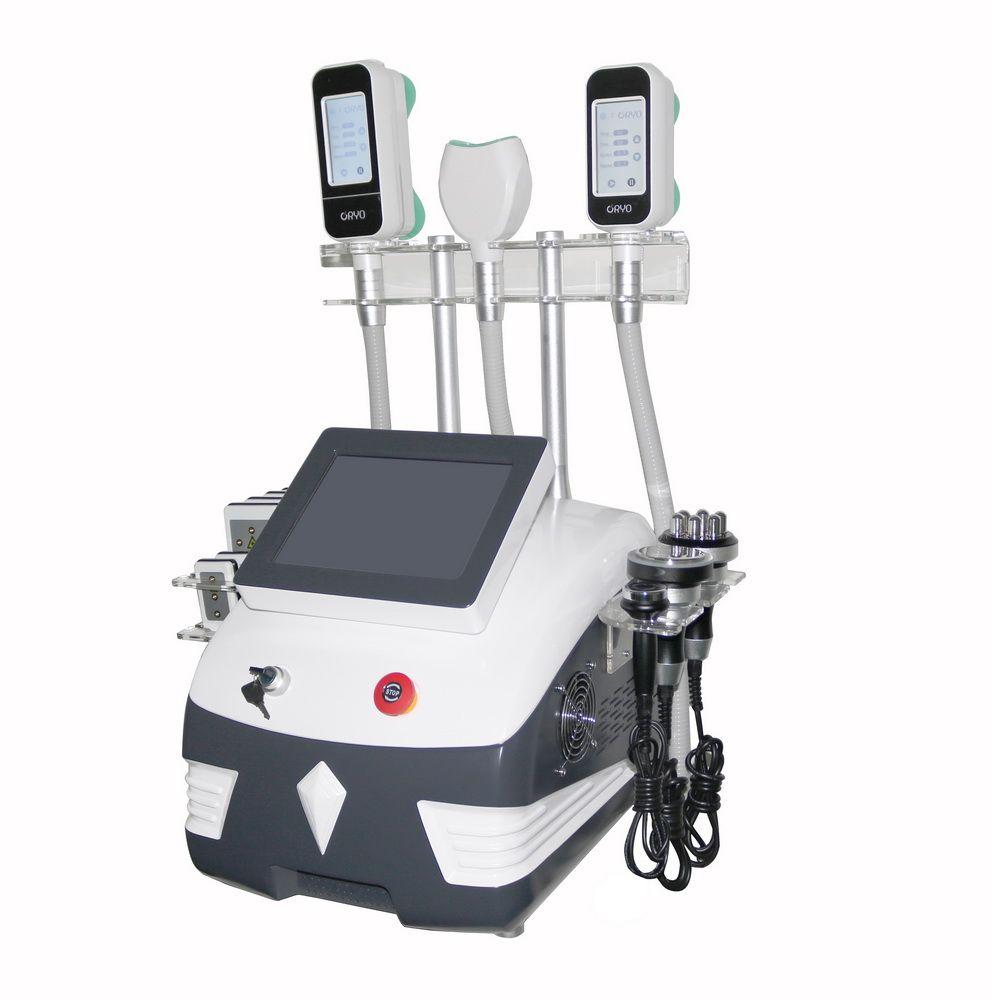 Lipo 레이저 Cavitation RF 슬리밍 기계 Cryolipolysis Fat Freezing 슬리밍 기계 진공 지방 감소 냉동 지방 동결 기계