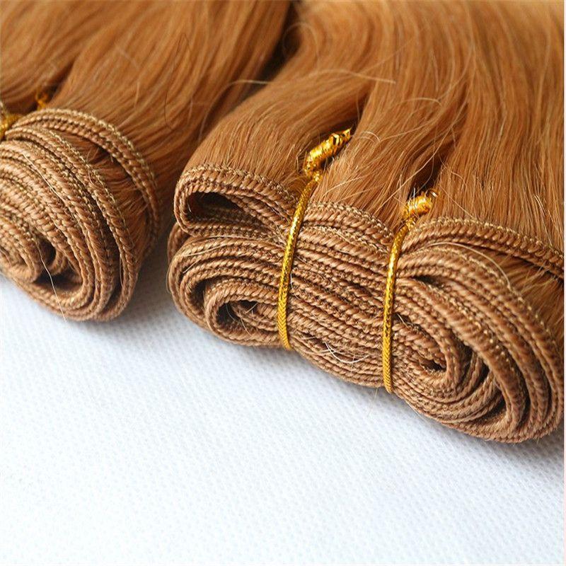 La donna di platino peruviano Body Wave Bundle estensioni dei capelli umani dei capelli di Remy 1/2/3/4 Bundles doppia trama