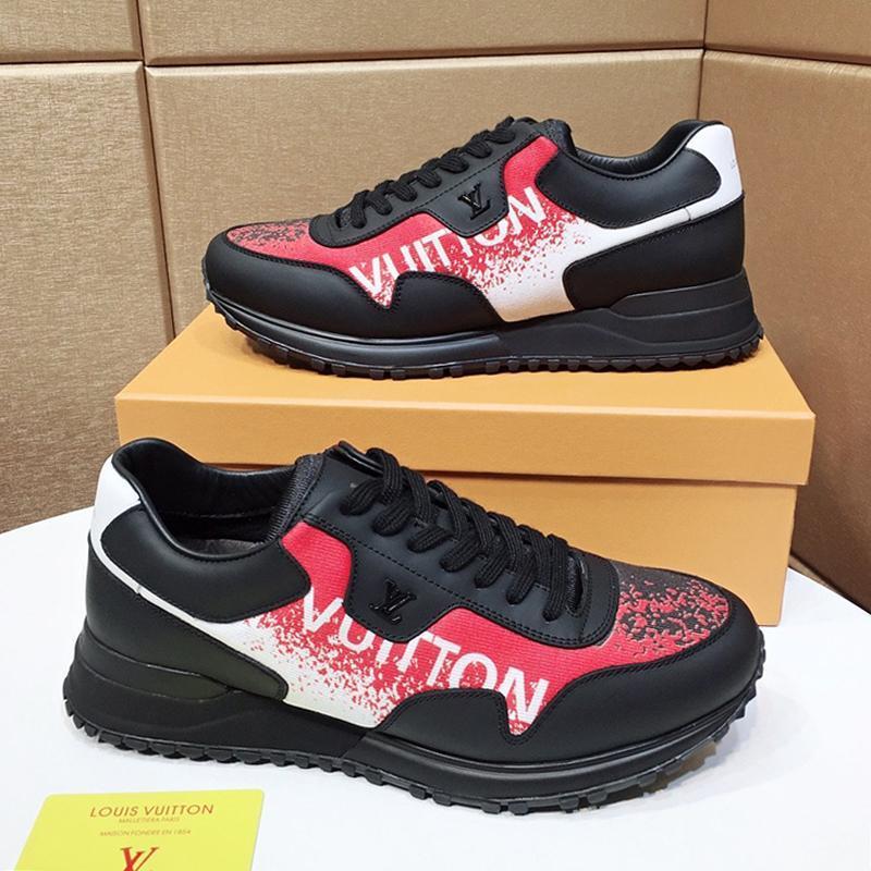 Alta Qualidade Run Away Sneaker Sapatos Masculinos Chaussures De Esporte Pour Hommes Casual sapatos de caminhada ao ar livre respirável Low Top Lace -Up Shoes