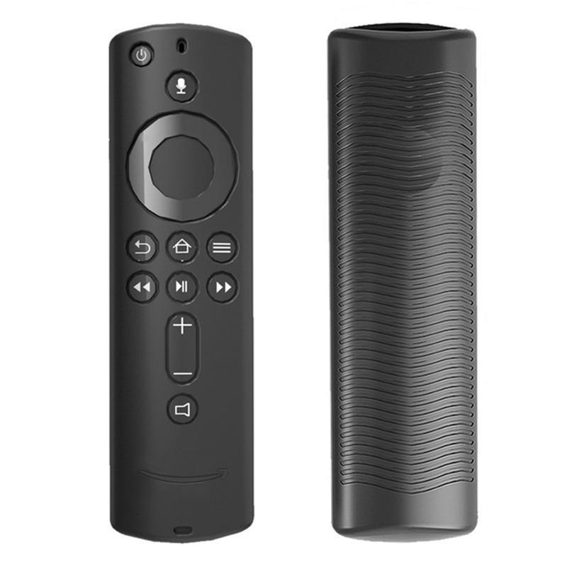Etui en silicone pour Amazon feu TV Stick 4K TV 5.6 pouces Télécommande de protection Housse de protection Shell Envoyer 50pcs