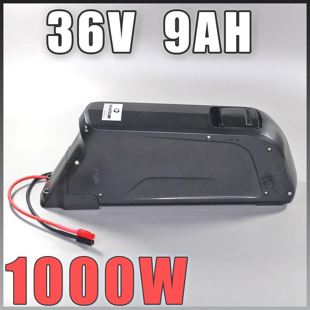Ebike giù batteria tubo con USB 10Ah 36V bici elettrica per Bafang / 8FUN 500W motore US UE No Tasse