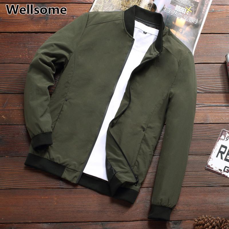 Vestes pour hommes et Manteaux 2020 Veste Automne Printemps Homme Casual Homme Vestes New Mode Vêtements Windbreakers extérieur Manteau pour hommes T200905