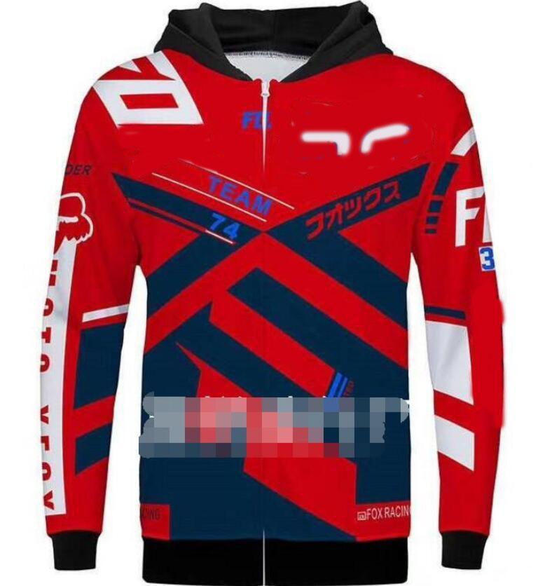 Nouvelle vente chaude FOX hors route sweat-shirt de moto en plein air sweat-shirt de course à manches longues