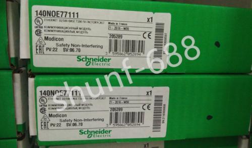 Schneider Modicon 140NOE77111 NOVO gratuito #DHL transporte