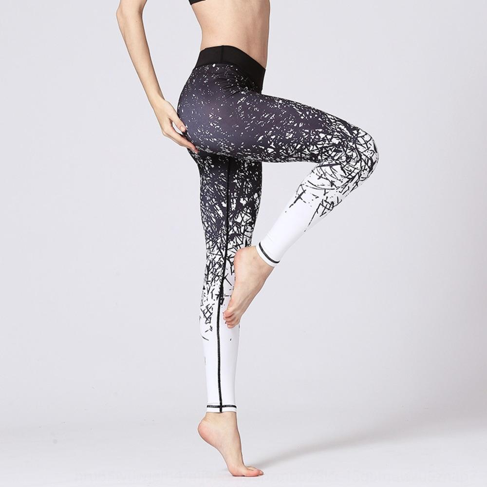 serie Jungle nuovi pantaloni stampati asciugatura rapida yoga tratto idoneità pantaloni di yoga digitali digitali stampate