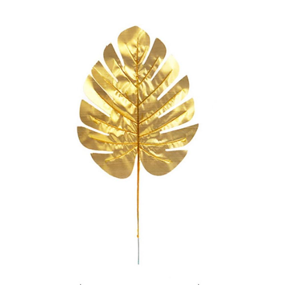 5PCS 홈 웨딩 장식 인공 잎 크리스마스 패브릭 가짜 거북 돌아 가기