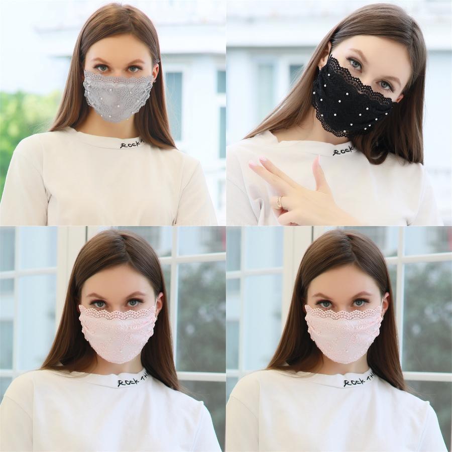 Masques de camouflage Prective glace soie Masque visage Mascherine Fraise Imprimer Anti poussières respirables Bouche Fash # 328