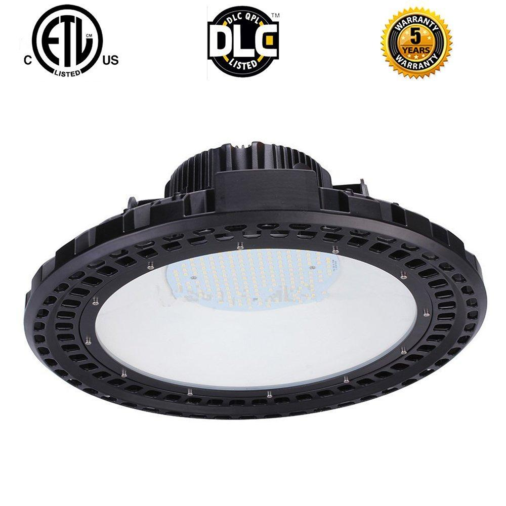 High Power 120W 150W 200W UFO High Bay Light Industrial Factory Warehouse Workshop выставочный зал лампа Meanwell Driver NICHIA Chips 90-277V