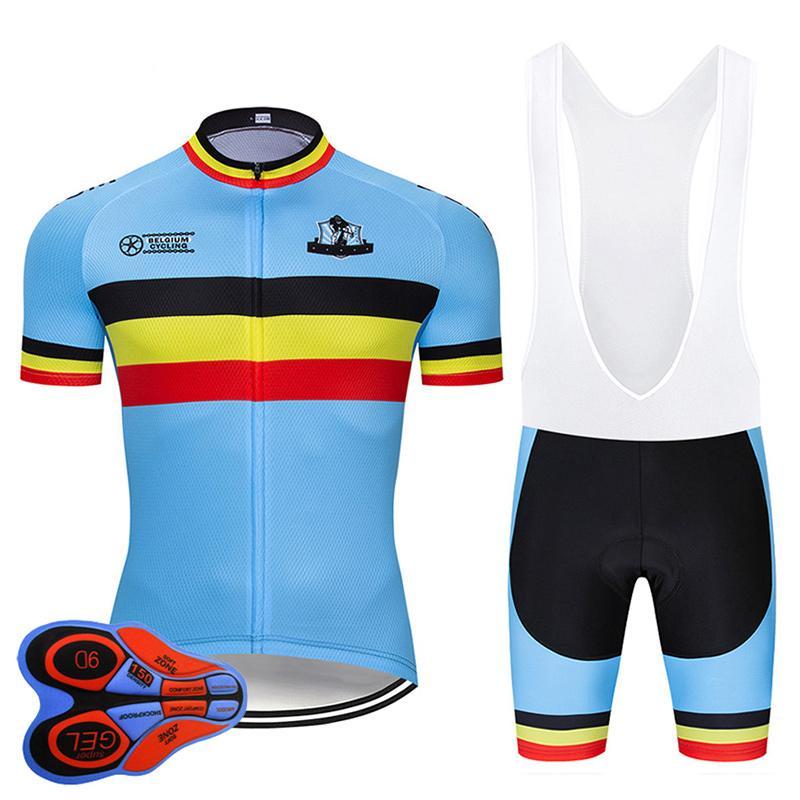 МТБ Велоспорт Джерси Униформа Велосипедная одежда Быстрая Сухая Велосипедная Одежда Мужчины Короткие Maillot Culotte Racing Sets