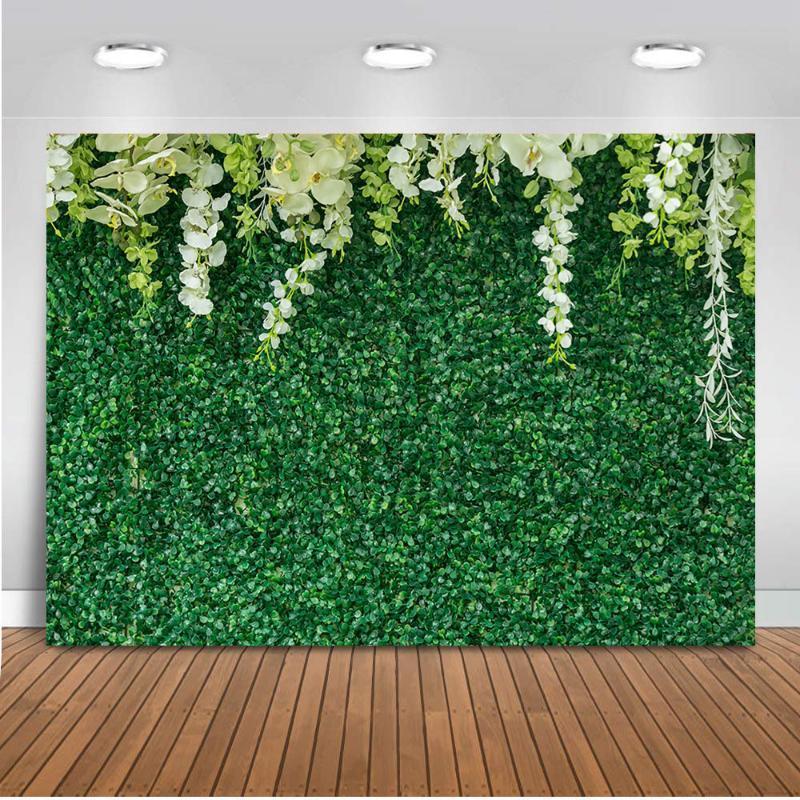 Зеленый фон травы для фотографии свадьбы цветок фон для фотостудии портрет фон phtoocall Бода украшения