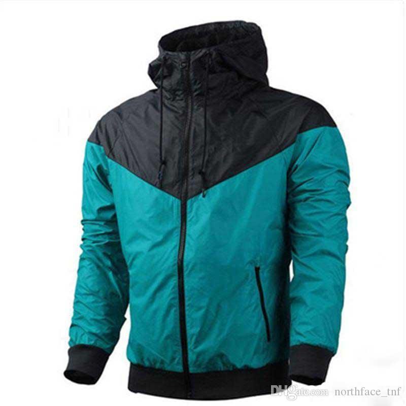 2019 Marque Sweat-shirt Sweat à capuche Hommes Femmes Veste Manteau à manches longues Automne Sports Zipper à glissière Menseurs Vêtements Mens Vêtements Plus Taille Sweats à capuche