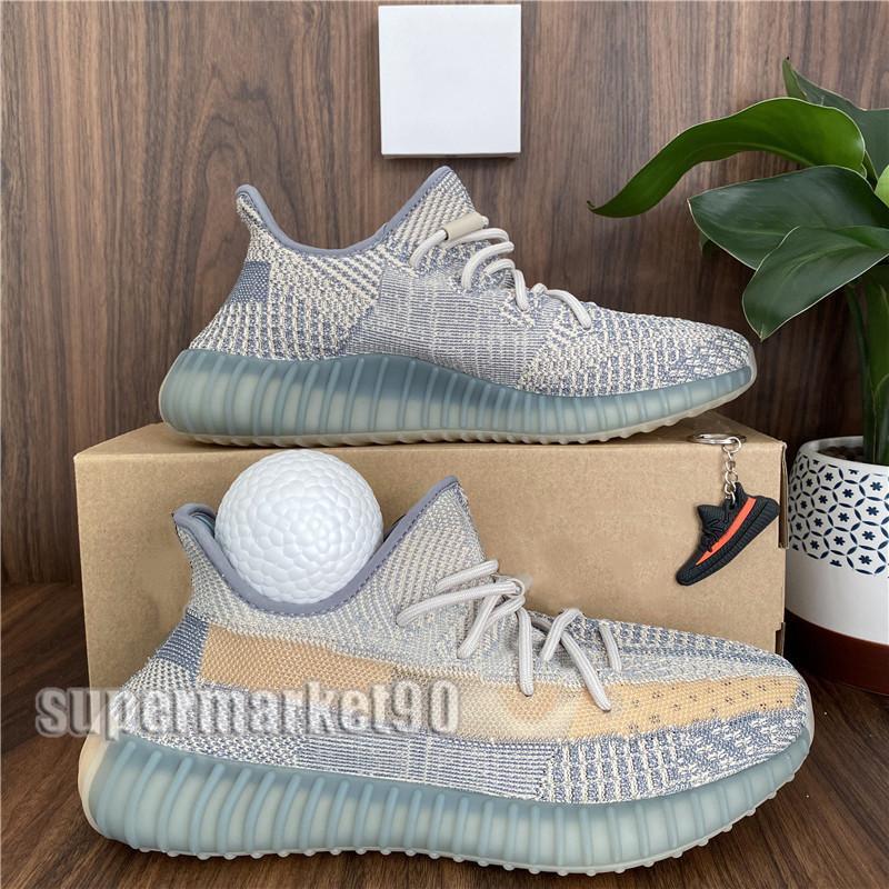 2020 Hommes Chaussures de course Femmes Sport Chaussures de sport Kanye West Israfil Zebra statique Terre Zyon Feu arrière Cinder V2 Chaussures Taille 36-48