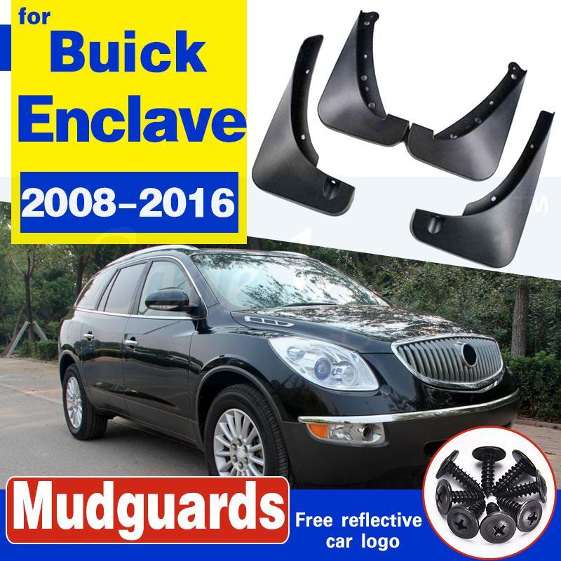Garde-boue arrière avant voiture pour Buick Enclave 2008 2009 2010 2012 2013 2014 2015 2016 Accessoires Bavettes voiture de coiffure Fenders