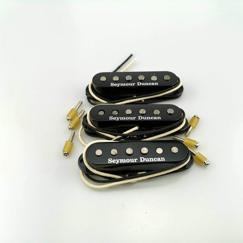 Semour Duncan Guitar Pickups SSL1 Alnico5 Pickup singolo Bobina vintage Black-Blacked per chitarra Nero Set