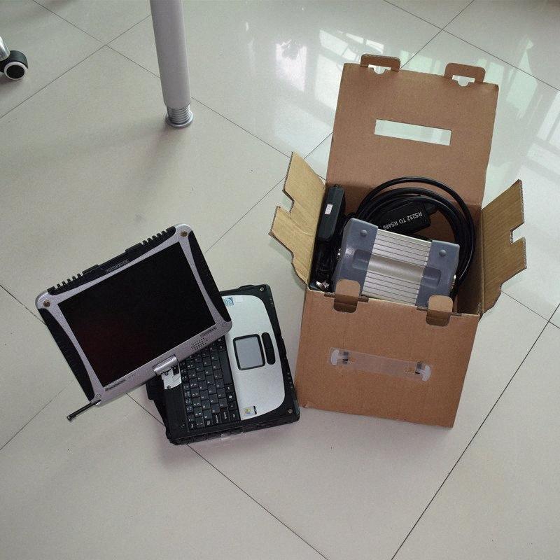 für mb star super c3 mit Laptop cF19 Touchscreen mit hdd 120gb installiert Diagnose für 12v bereit Yz5i # verwenden