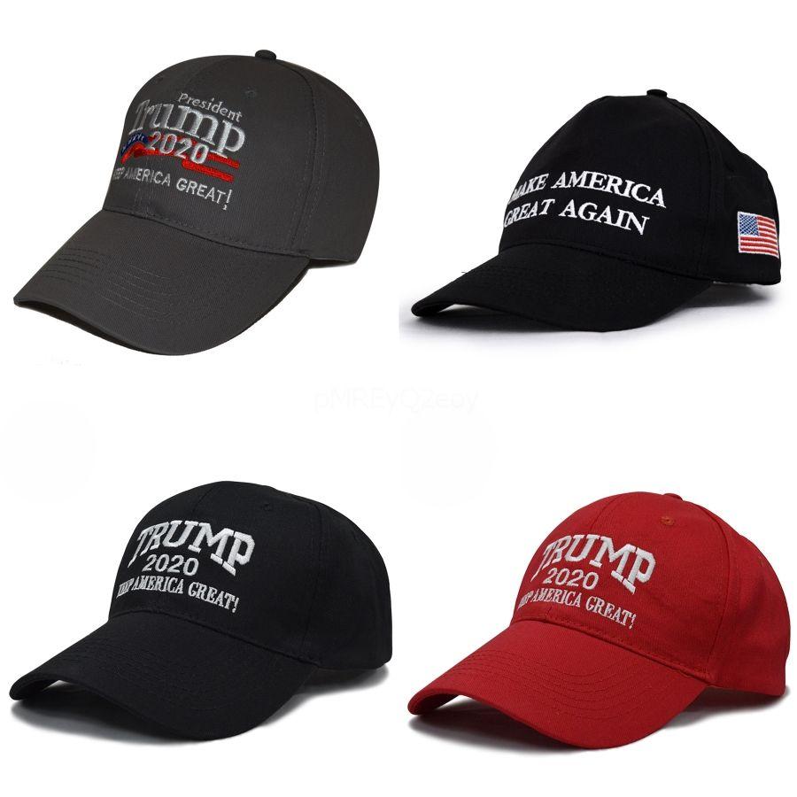 Donald Trump 2020 Flag Marca Baseball Cap Outdoor America Great Again Hat republicano malha Sports Cap EUA # 963
