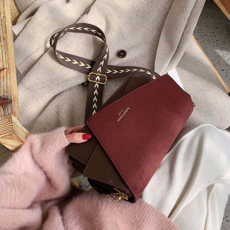 Scrub PU Sacs Crossbody cuir pour femmes 2020 Vintage Designer épaule Messenger Bag Lady Sacs à main et sacs à main Voyage MX200817