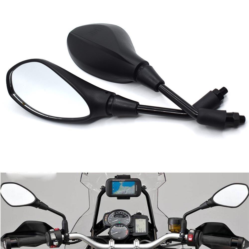 Универсальная 10мм Мотоцикл зеркало заднего вида LeftRight Зеркала заднего вида Корпус Боковые зеркала для Honda CBR600RR CBR929RR CBR954RR CBR1000RR