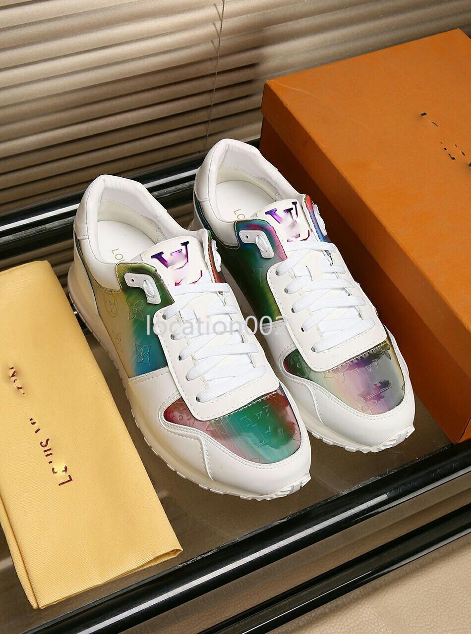 Louis Vuitton Moda koçu spor ayakkabıları erkek ayakkabıları rahat kez lüks spor ayakkabısı Zapatos De Lujo Para Hombre tipi a0528 S