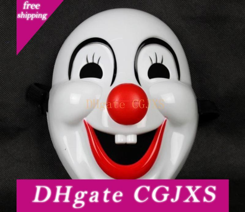 Clown Mask Red Nose Movie Clown Masks Plastic Masquerade Clown For Children S Day