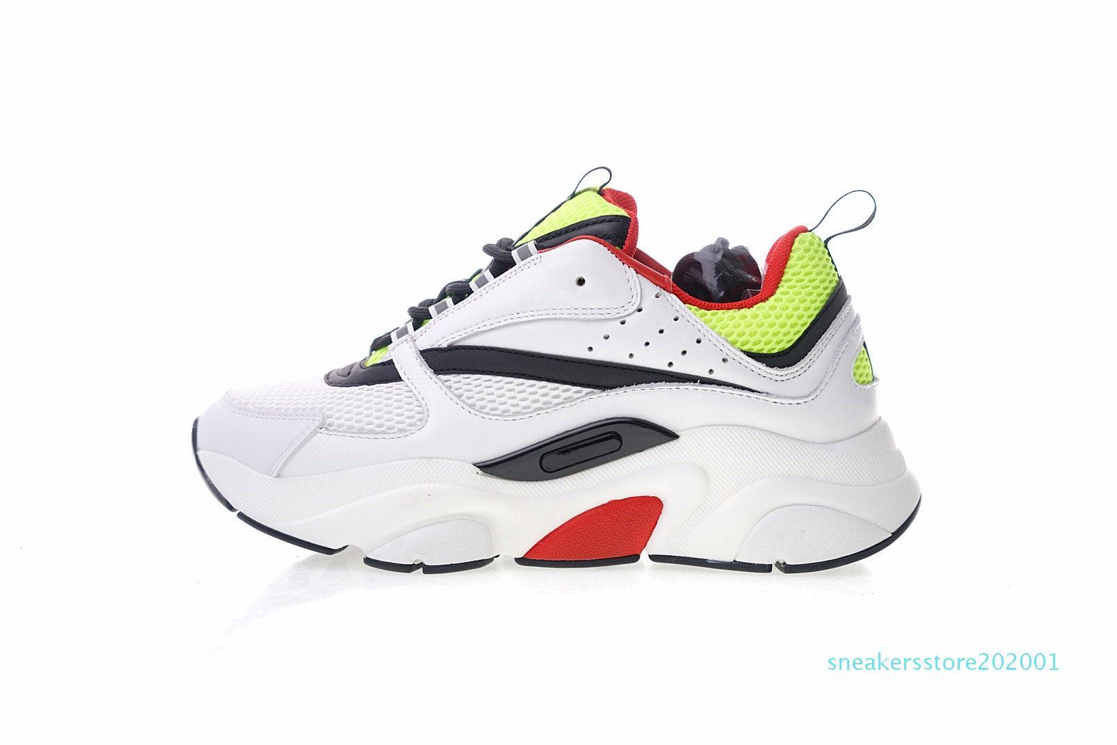 B22 Sneaker Herren-Designer-Schuhe Vintage-Turnschuhe Leinwand und Kalbsleder Turnschuhe Luxus Unisex Low Top Freizeitschuhe 20color Groß 35-4 s01