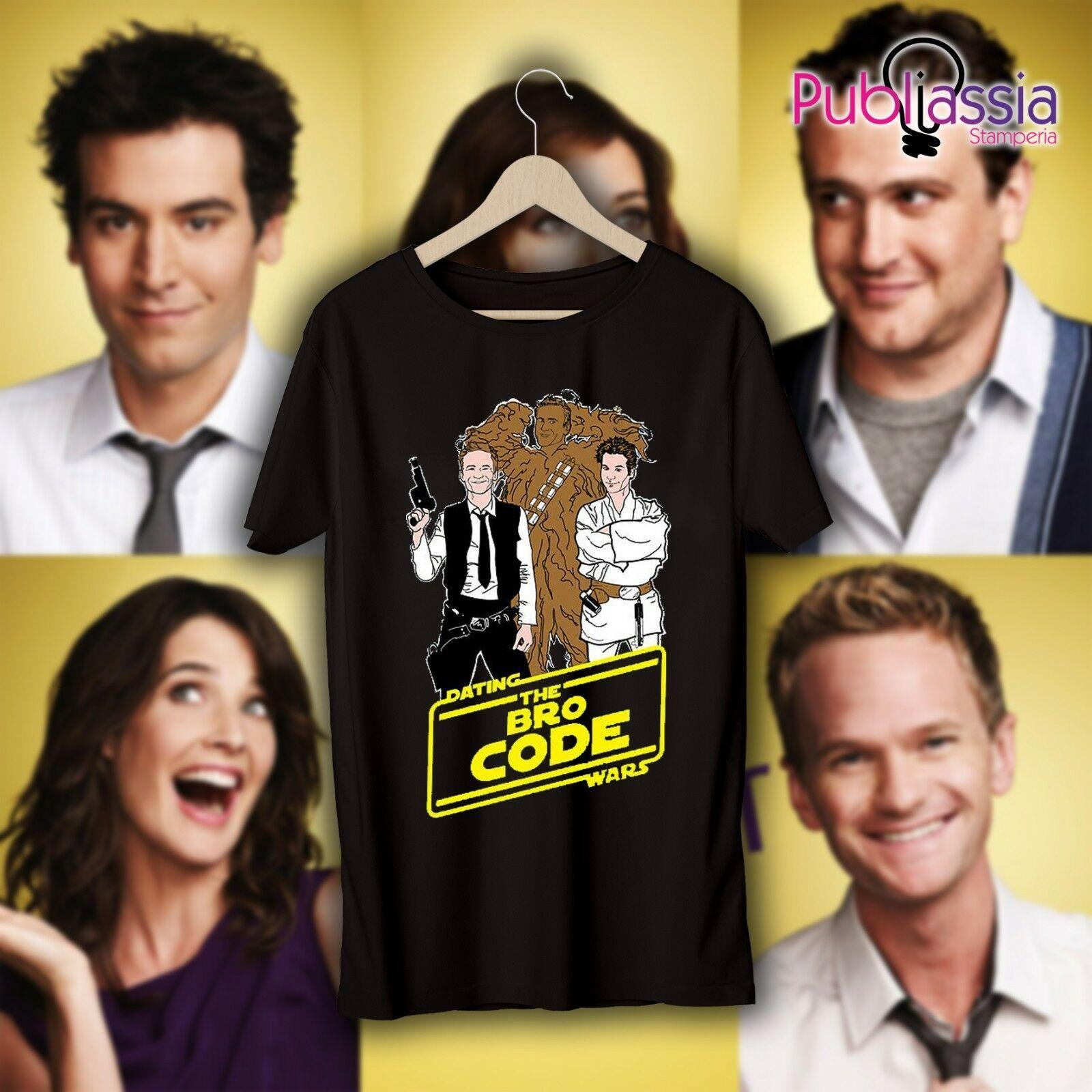 Wie I Met Your Mother T-Shirt HIMYM Maglietta 13 Ted Marshall Robin Barney Lilycool Gelegenheits-Stolz-T-Shirt Männer Unisex Mode