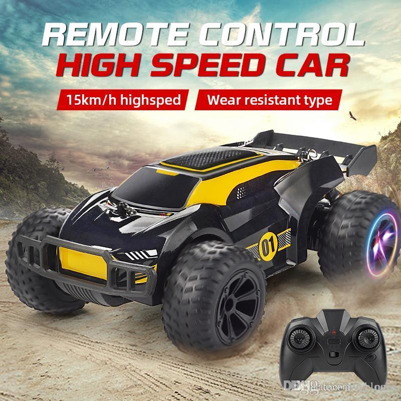 RC 15M / H Carro de Alta Velocidade 2.4G Remoto Controle de Veículo Escalada Drift Cars Racing Off Road Boys Kids Brinquedos