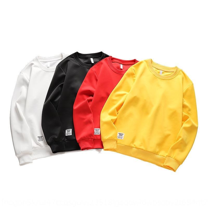 qZlvi осень Новый корейский стиль вокруг шеи мужчины просто Top свитер свитер моды Daily длинный рукав мужской верхней одежды