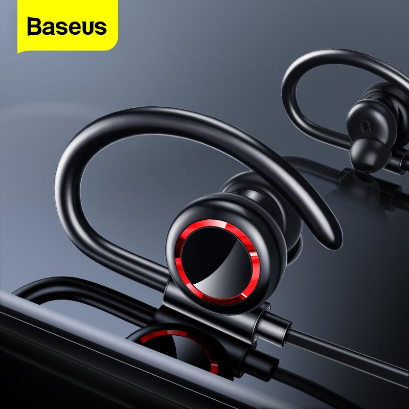Baseus S17 الرياضة سماعات لاسلكية بلوتوث 5.0 سماعة أذن للحصول على الهاتف الأذن براعم سماعة يدوي