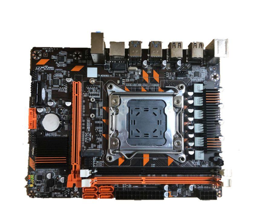 2pcs X99 placa base con ayuda de la ranura M.2 NVMe dual tanto DDR3 LGA2011-3