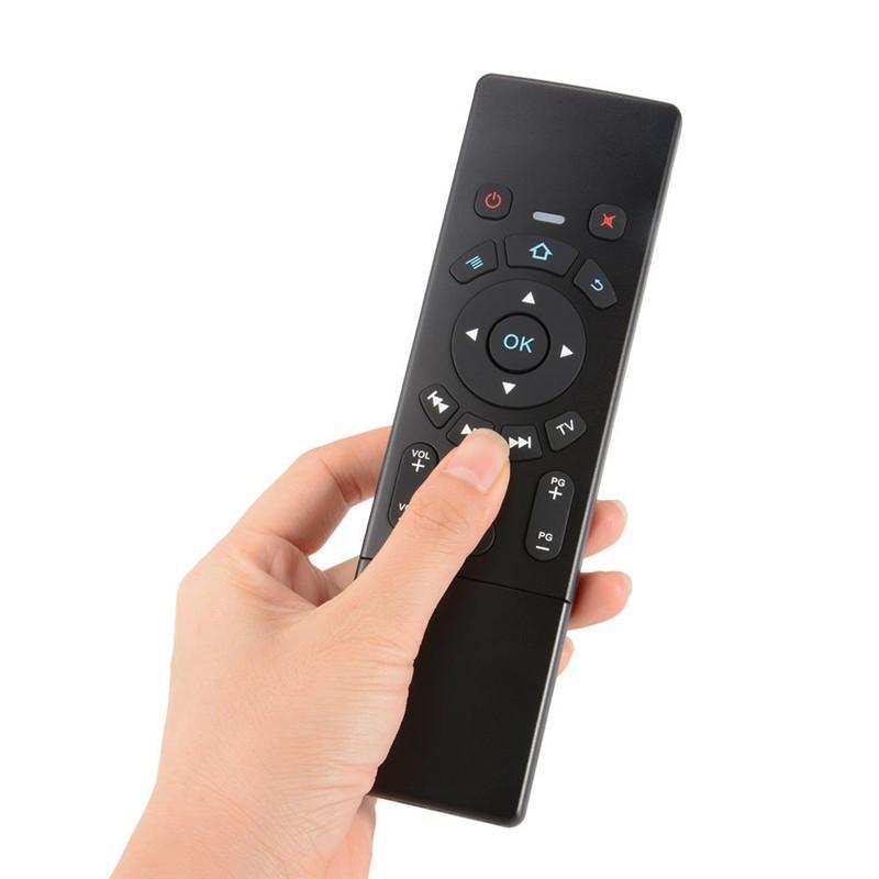 Air Mouse Touchpad cgjxsT6 mini teclado ratón para juegos con 2 .4G sin hilos para el mini proyector y Smart TV Box Android