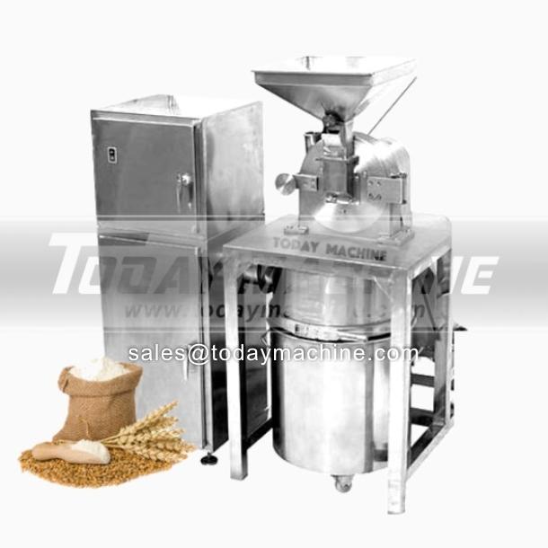 Acero inoxidable polvo seco Absorción Recopilación de chile en polvo que hace la máquina Grind precios