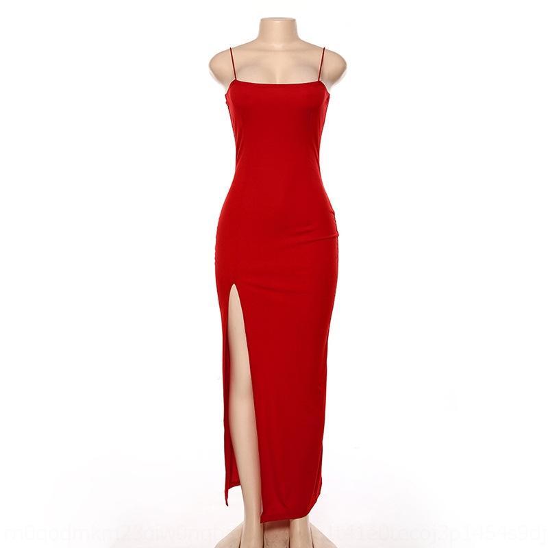 abito QcBkr 2020 cinghia di una sola riga collare nuovi N8AaS cinghia delle donne del vestito Estate sottile backless sexy spaccato spalla