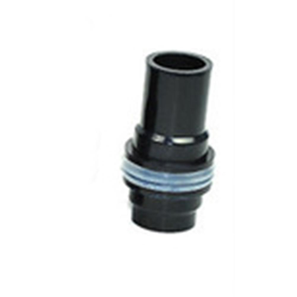 Suavizar tubo de drenaje acuario Conectores de tubos de agua de PVC Fish Tank recta conjunta