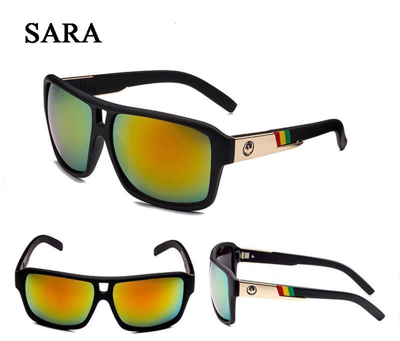 10pcs al por mayor! Diseño de lujo al aire libre Gafas de sol para mujeres de los hombres Espejo reflexivo retro unisex Gafas de gafas de sol Gafas de Sol