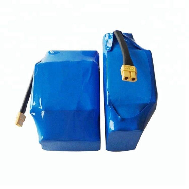 10S2P 18650 Lityum İyon Pil Paketleri 36V 5AH 4.4AH Elektrikli Kaykay Akü Paketi için