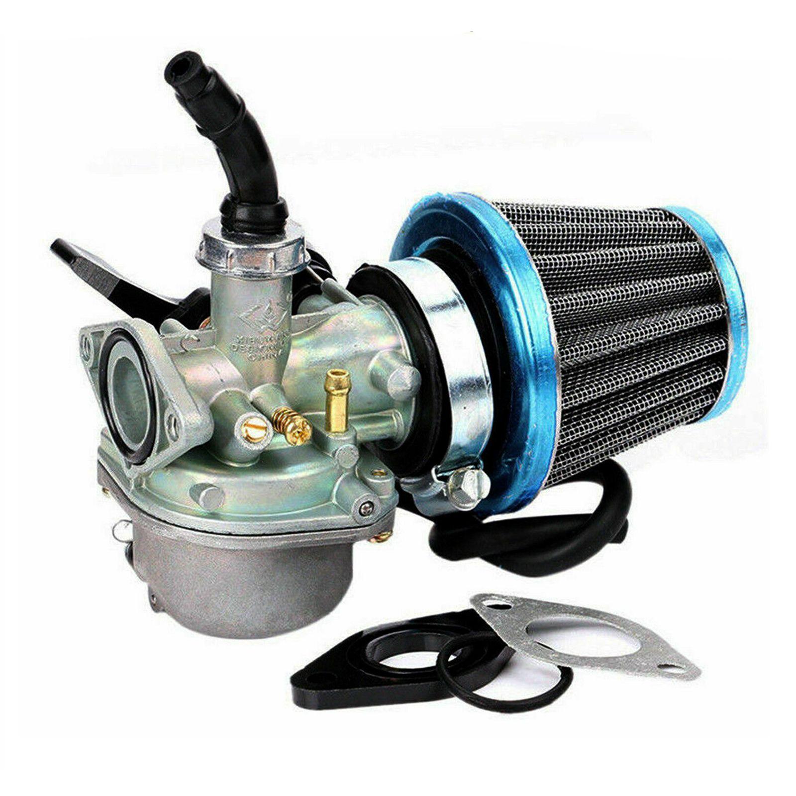 PZ19 Carb Per 50cc 70cc 90cc 110cc 125cc motociclo ATV sporcizia filtro bici carburatore W / Air