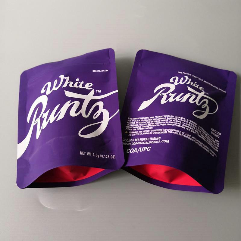 2020 Apple, Og сумки 35 Печенье Runtz Сумка Минц Большой Runtz Og Грамм Печенье Цветок Премиум Сумки Sf Печенье Молнии Runtz Белый mdoEw